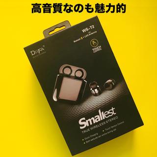 【新品】極小ワイヤレスイヤフォン Touch(タッチ)Bluetooth 5.0(ヘッドフォン/イヤフォン)
