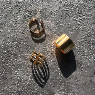 ローリーズファーム(LOWRYS FARM)のGold ring 3set No.24(リング(指輪))