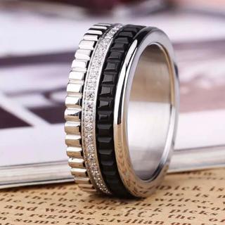 人気の細身のタイプ キャトルリング シルバー 19号(リング(指輪))