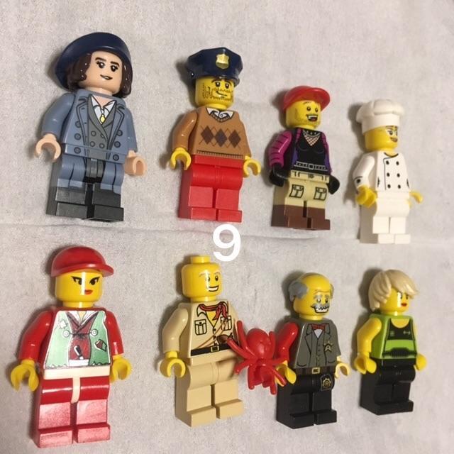 Lego - 9 レゴ ミニフィグセット 8体 ミニフィギュア  レゴブロック  の通販 by 💟Lara💟's shop|レゴならラクマ
