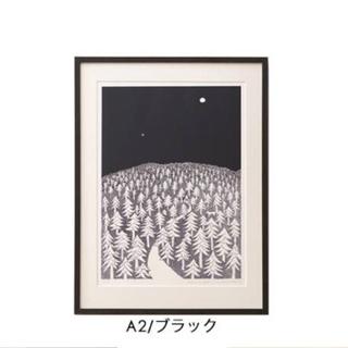 ミナペルホネン(mina perhonen)のKLIPPAN ミナペルホネン HOUSE IN THE FOREST  A2(絵画/タペストリー)