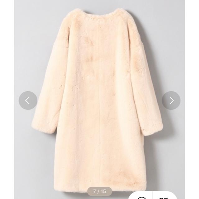 JEANASIS(ジーナシス)のファーコート   レディースのジャケット/アウター(毛皮/ファーコート)の商品写真