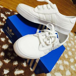 アディダス(adidas)のadidas 白スニーカー (スニーカー)