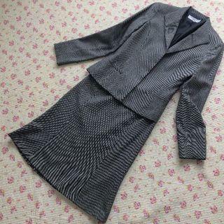 ナチュラルビューティーベーシック(NATURAL BEAUTY BASIC)のナチュラルビューティー スカートスーツ 上M下XS W64 OL ビジネス (スーツ)