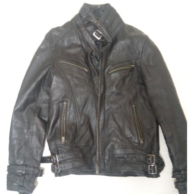 JACKROSE(ジャックローズ)のまつりゅう様専用 ジャックローズ ラムレザー ジャケット メンズのジャケット/アウター(レザージャケット)の商品写真