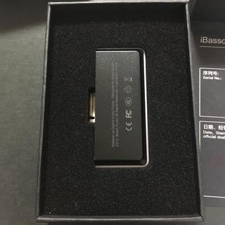 ibasso amp8 4.4mバランス接続用(アンプ)