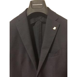 フィナモレ(FINAMORE)の未使用 美品 タリアトーレ  ネイビー2Bジャケット 48サイズ(テーラードジャケット)