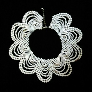 スワティ(SWATi)のSWATi 付け襟風ネックレス(ネックレス)