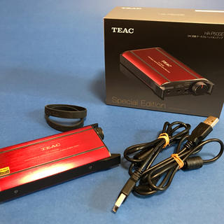 TEAC DAC搭載 ポータブルヘッドホンアンプ HA-P50SE(アンプ)