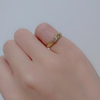 K18ブラウンダイヤピンキーリング(リング(指輪))