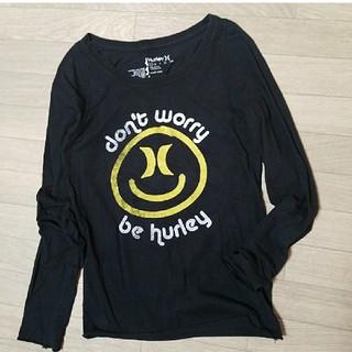 ハーレー(Hurley)のHurley ハーレー 長袖Tシャツ カットソー トップス ニコちゃん 風(Tシャツ(長袖/七分))