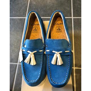 クラークス(Clarks)のクラークス マーコスビー デッキシューズ  新品未使用(ローファー/革靴)