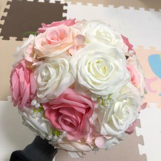 ブーケ ラウンドブーケ 造花 処分セール(ブーケ)