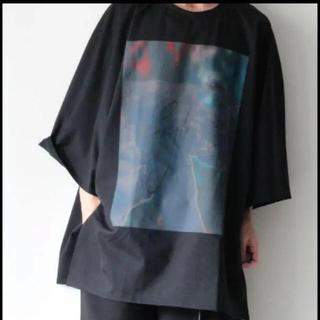 シセ(Sise)のsise ビックプリントTシャツ(Tシャツ/カットソー(七分/長袖))