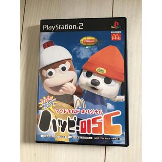 プレイステーション2(PlayStation2)のマクドナルドオリジナル ハッピーディスク(家庭用ゲームソフト)