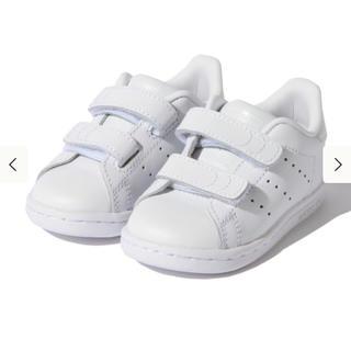コドモビームス(こどもビームス)のこどもビームス adidas ベビー スタンスミス ホワイト(スニーカー)