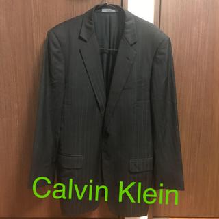 カルバンクライン(Calvin Klein)のCalvin Klein テーラードジャケット シルク(テーラードジャケット)