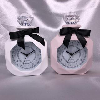フランフラン(Francfranc)の【新品】パヒューム型置時計 2カラーセット(置時計)