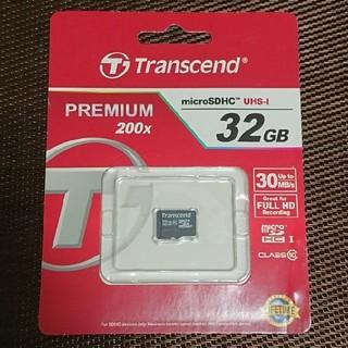 トランセンド(Transcend)のマイクロSDHC 32GB(PC周辺機器)