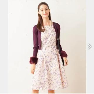 トッカ(TOCCA)のTOCCA GARDENIA ドレス ワンピース(ひざ丈ワンピース)