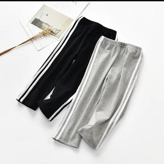 アディダス(adidas)のキッズパンツ ライン入り ジャージ風(パンツ/スパッツ)