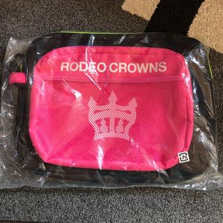 ロデオクラウンズワイドボウル(RODEO CROWNS WIDE BOWL)のロデオクラウンズ ノベルティ(ポーチ)