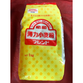 昭和 薄力粉フレンド500g  おまとめ時の割引単価148円(米/穀物)