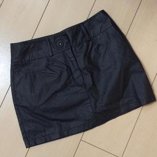 フェンディ(FENDI)のフェンディ雨の日用ミニスカート ゴム引き42(ミニスカート)