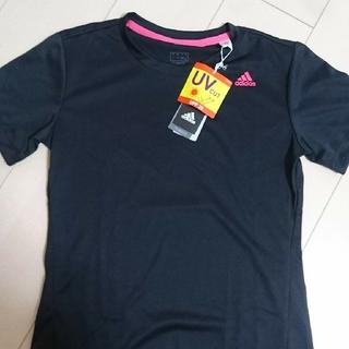 アディダス(adidas)のアディダス レディース UVティーシャツ(Tシャツ(半袖/袖なし))