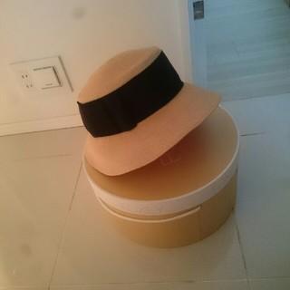 フォクシー(FOXEY)のFOXEY ラフィア帽子(麦わら帽子/ストローハット)