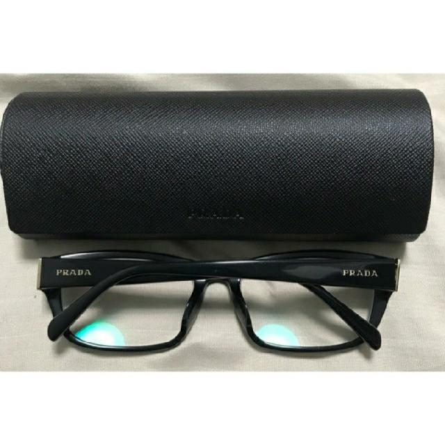 5f4ecbb56f00 PRADA - PRADA 美品 伊達メガネ 度なしの通販 by Caribbean's shop ...