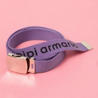 レピピアルマリオ(repipi armario)のrepipi armario ロゴガチャベルト(ベルト)
