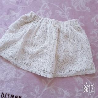 ジーユー(GU)のGU 女の子スカパン スカート110(スカート)
