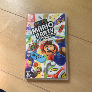 ニンテンドースイッチ(Nintendo Switch)のマリオパーティ switch(携帯用ゲームソフト)