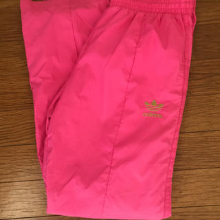 アディダス(adidas)のSALE【 アディダスオリジナルス  】PINK ナイロンパンツ ジャージ(ウェア)