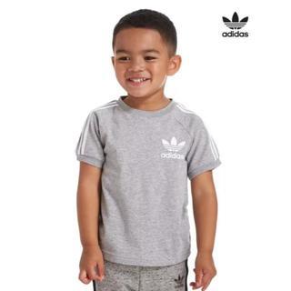アディダス(adidas)の送料込み didas アディダス ロゴ Tシャツ キッズ 70〜75cm(Tシャツ)