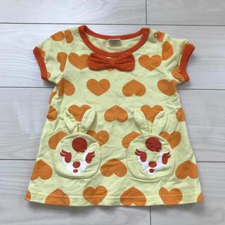 アナップキッズ(ANAP Kids)のアナップキッズ ワンピース Tシャツ 80cm(ワンピース)