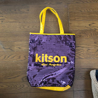 704e7f9ba9d0 KITSON - 美品!!Kitson♡スパンコールバッグの通販 by maimai's shop ...