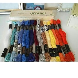 オリンパス(OLYMPUS)の最終価格!刺繍糸セット④ Cosmo・ OLYMPUS(生地/糸)