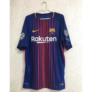 ナイキ(NIKE)の2017 FCバルセロナ 選手支給品ユニホーム メッシ ユニフォーム CL (応援グッズ)