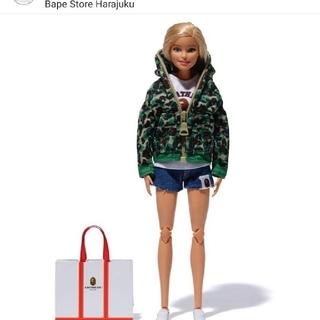 アベイシングエイプ(A BATHING APE)のbape Barbieコラボ人形(ぬいぐるみ/人形)