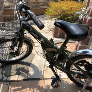 ジープ(Jeep)のジープコマ付き自転車16インチ(自転車)