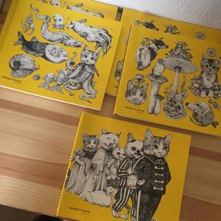 ヒグチユウコ  クロッキー 5冊セット 未使用(スケッチブック/用紙)