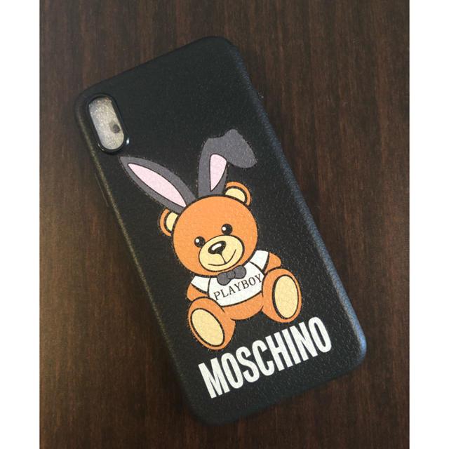 MOSCHINO - 新品未使用  MOSCHINO iPhoneケースの通販 by yuzu♡'s shop|モスキーノならラクマ