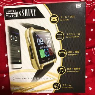 デジタルリンクウォッチシャイニー(腕時計(デジタル))