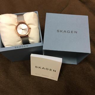 スカーゲン(SKAGEN)のSKAGEN レディース腕時計 美品です!(腕時計)