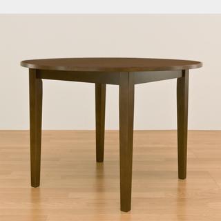 ママちゃん様用!Dテーブル(円形vls100BR+DチェアBRセット(ダイニングテーブル)