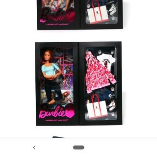 アベイシングエイプ(A BATHING APE)のbape Barbie コラボ人形 pink(キャラクターグッズ)