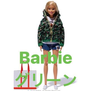 アベイシングエイプ(A BATHING APE)のBarbie × BAPE バービー人形 グリーン カモ(ぬいぐるみ/人形)