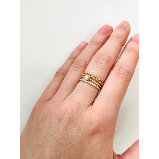 ete(エテ)のエテ レースリング メンズのアクセサリー(リング(指輪))の商品写真